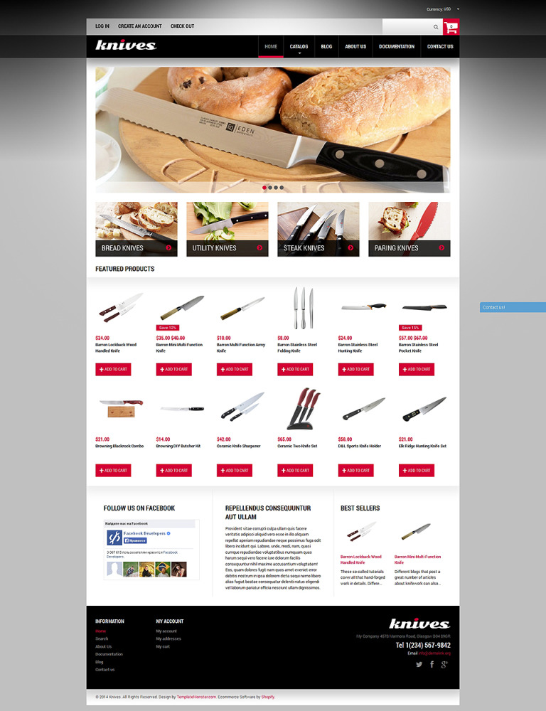 Housewares Responsive Shopify Theme New Screenshots BIG