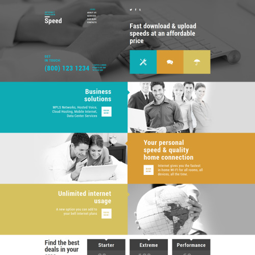 Speed - Joomla! Template based on Bootstrap