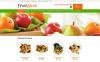 """Modello OpenCart Responsive #49580 """"Negozio dei Cesti di Frutta"""" New Screenshots BIG"""