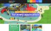 Responsive Eğlence Parkı  Web Sitesi Şablonu New Screenshots BIG