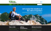 Responsive Website Vorlage für Wandern  New Screenshots BIG