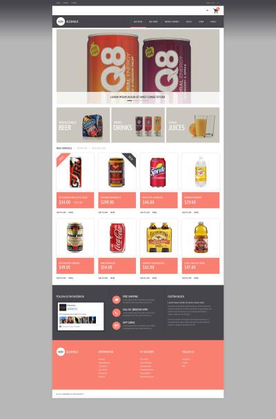 Food & Drink Responsive PrestaShop Motiv