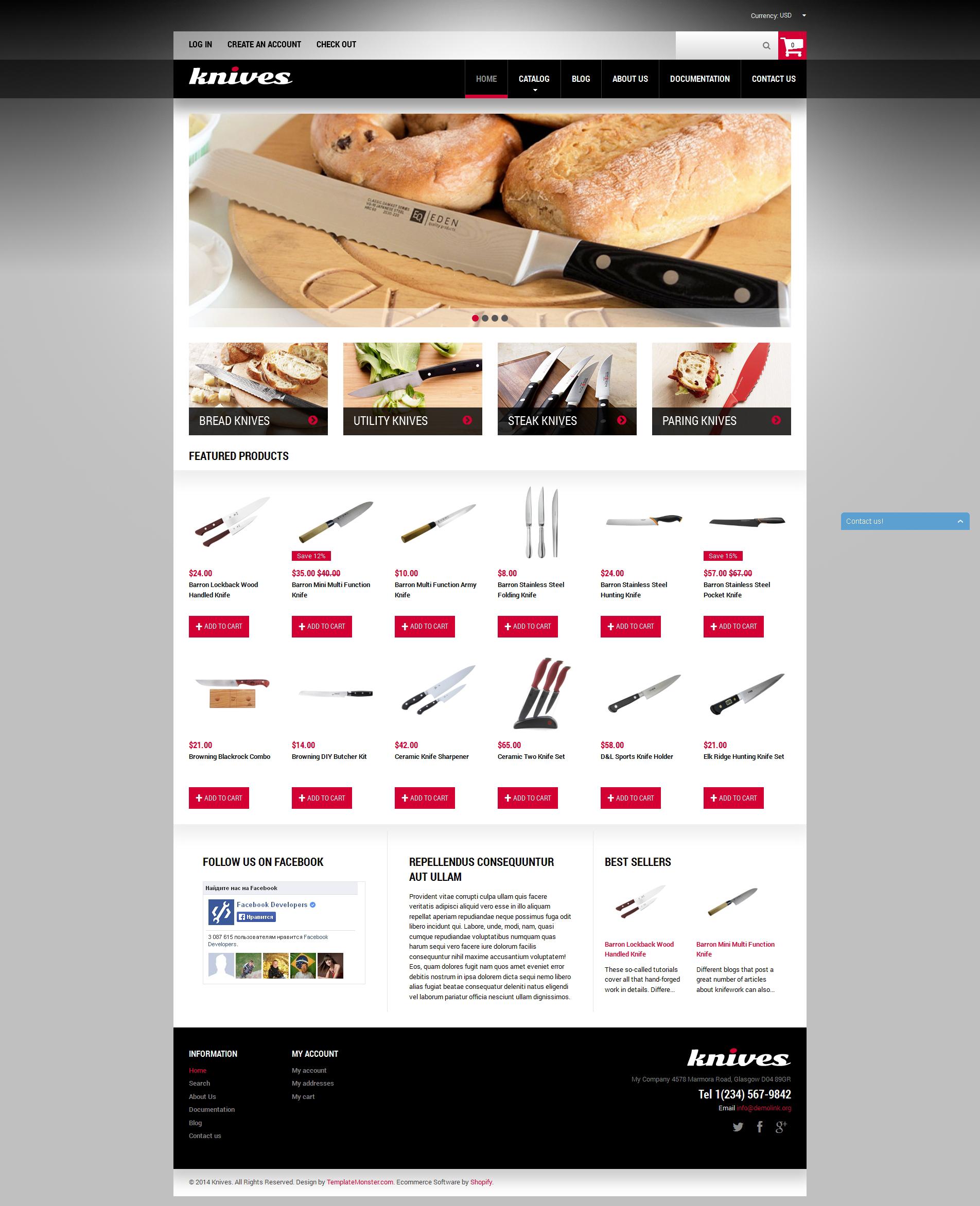 Tema de Shopify Flexível para Sites de Utilidades Domésticas №49595