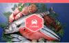 Tema Siti Web Bootstrap #49530 per Un Sito di Ristorante Frutti di Mare New Screenshots BIG
