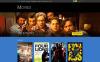 Template OpenCart Responsive #49582 per Un Sito di Film New Screenshots BIG