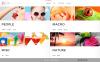 Website template over Fotoatelier New Screenshots BIG