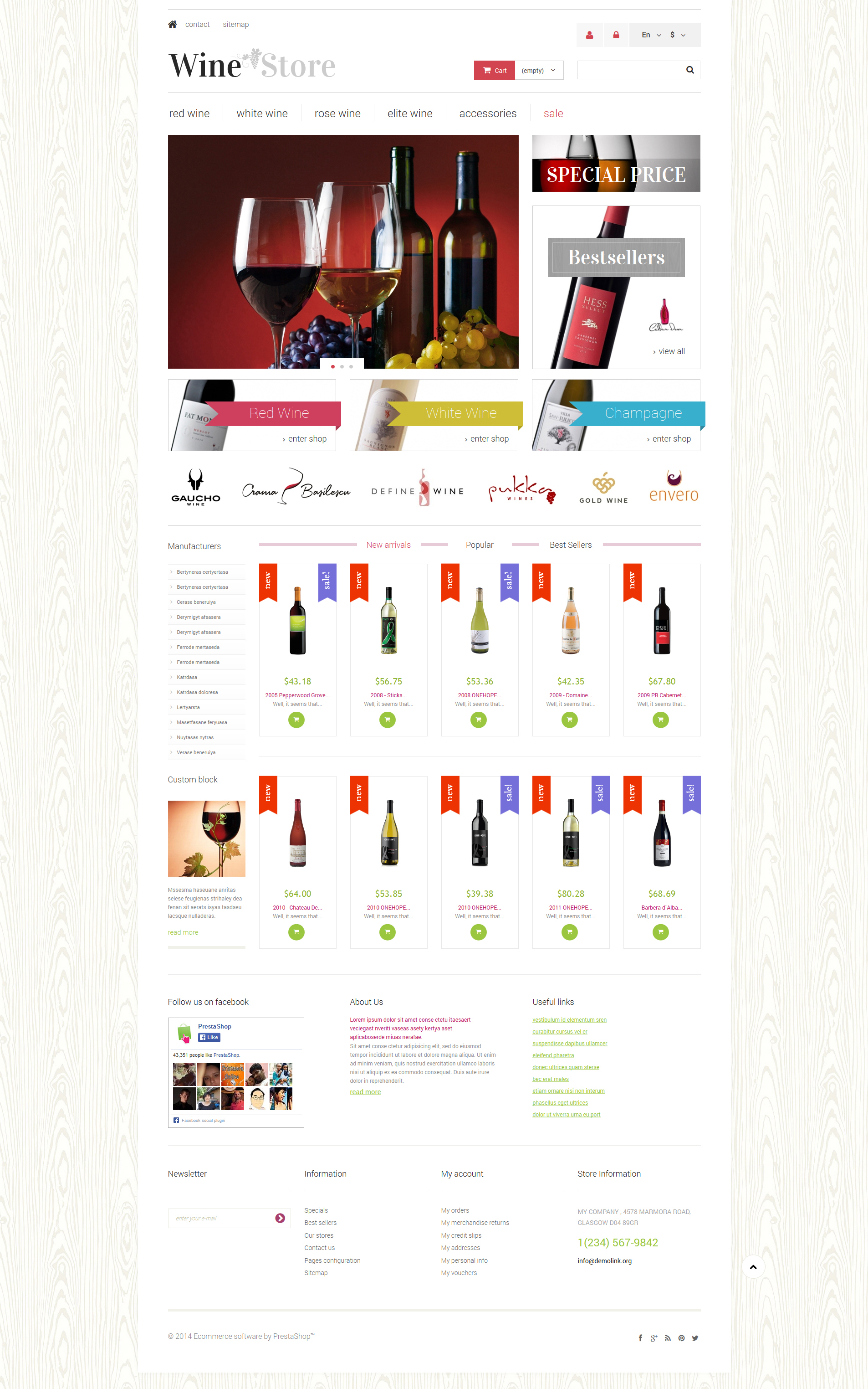 Wine store prestashop theme 49523 wine store prestashop theme fandeluxe Gallery