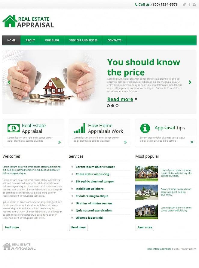 Clean Website Design for Real Estate - image