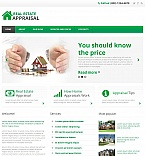 Real Estate Moto CMS HTML  Template 49611