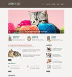 Animals & Pets Website  Template 49620