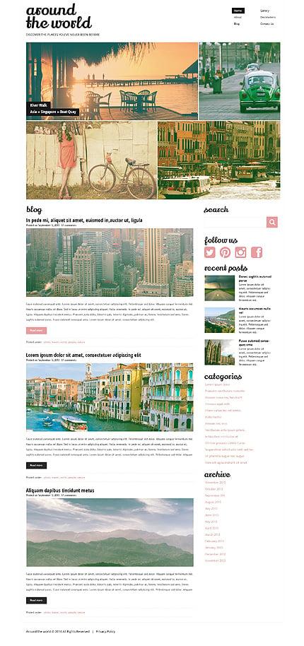 WordPress Theme/Template 49621 Main Page Screenshot