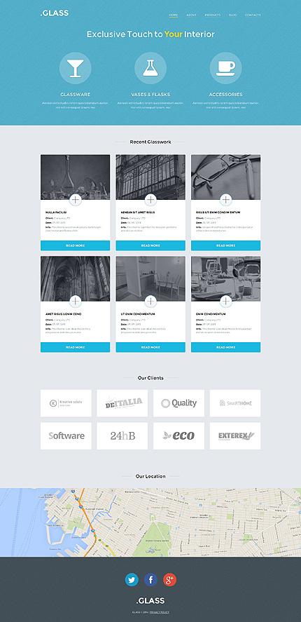 WordPress Theme/Template 49623 Main Page Screenshot