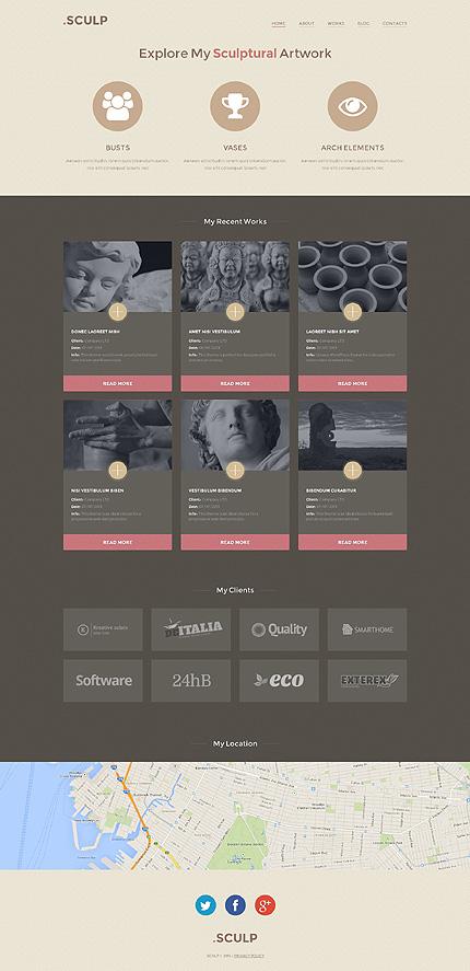WordPress Theme/Template 49624 Main Page Screenshot