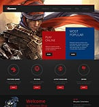 Games WordPress Template 49627