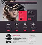 Entertainment WordPress Template 49628