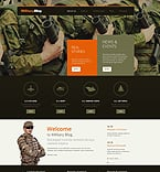 Military WordPress Template 49629