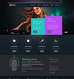 Music WordPress Template 49630