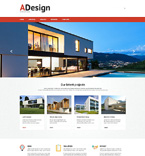 Architecture Website  Template 49635