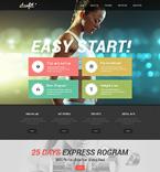 Sport Website  Template 49639