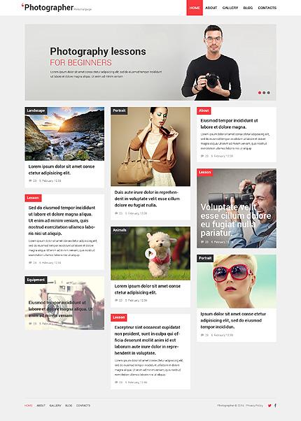 WordPress Theme/Template 49640 Main Page Screenshot