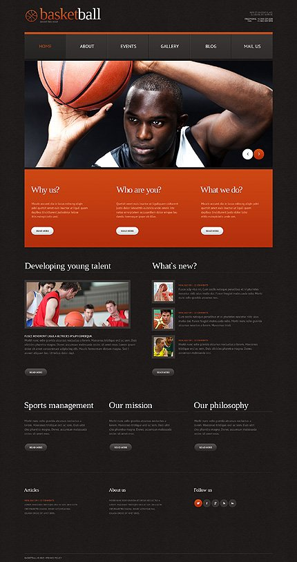 WordPress Theme/Template 49641 Main Page Screenshot