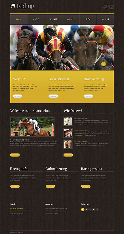 Website Template #49643