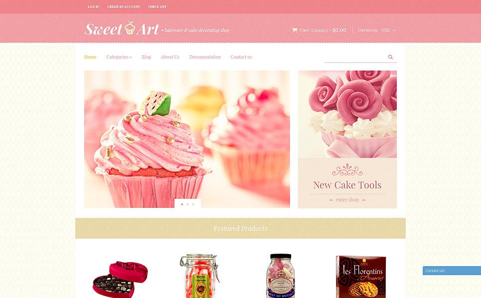 Responsives Shopify Theme für Süßwarengeschäft  New Screenshots BIG
