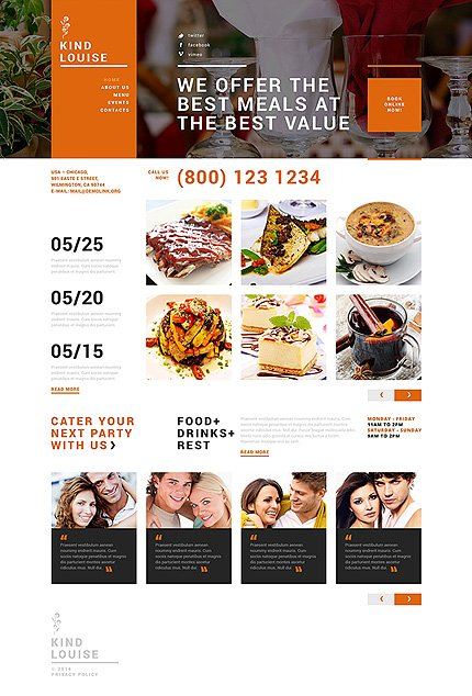 Joomla Theme/Template 49657 Main Page Screenshot