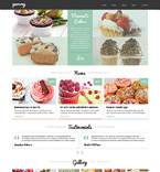 Food & Drink Joomla  Template 49658