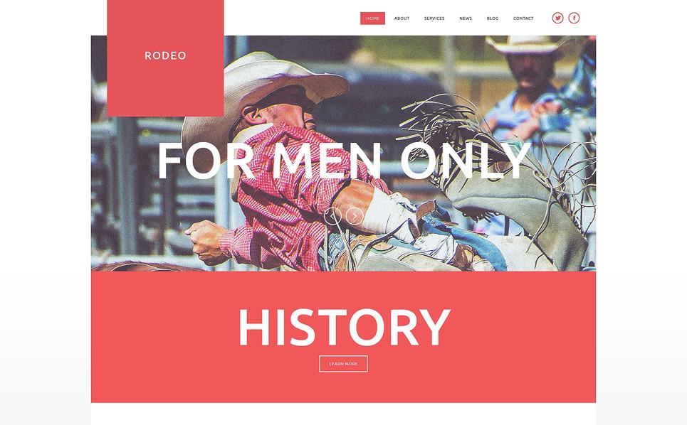 Responsive Joomla Template over Paardenrennen  New Screenshots BIG