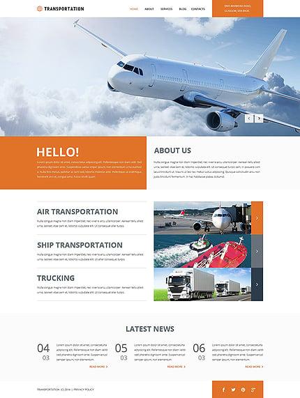 Joomla Theme/Template 49661 Main Page Screenshot