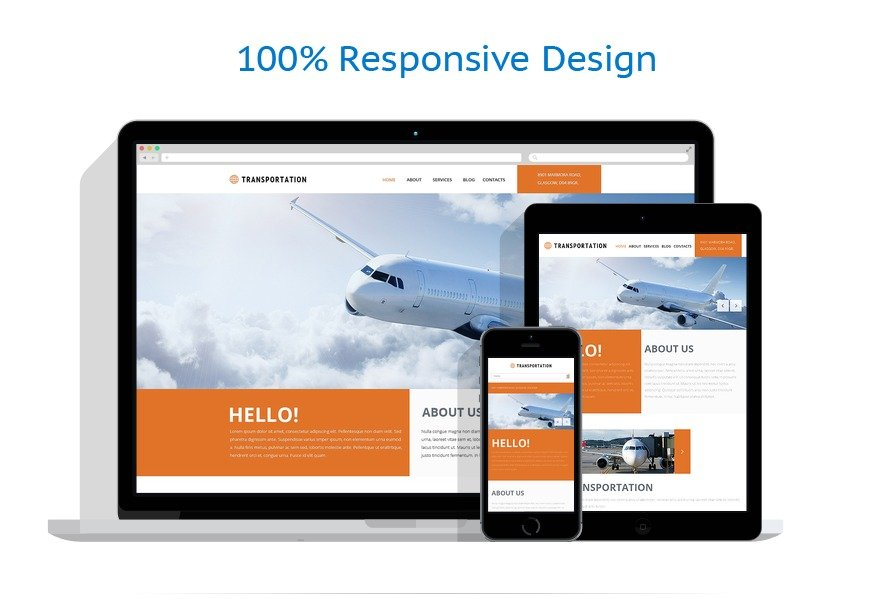 Freight Shipping Group Joomla Template #49661