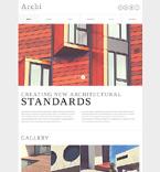 Architecture Joomla  Template 49662