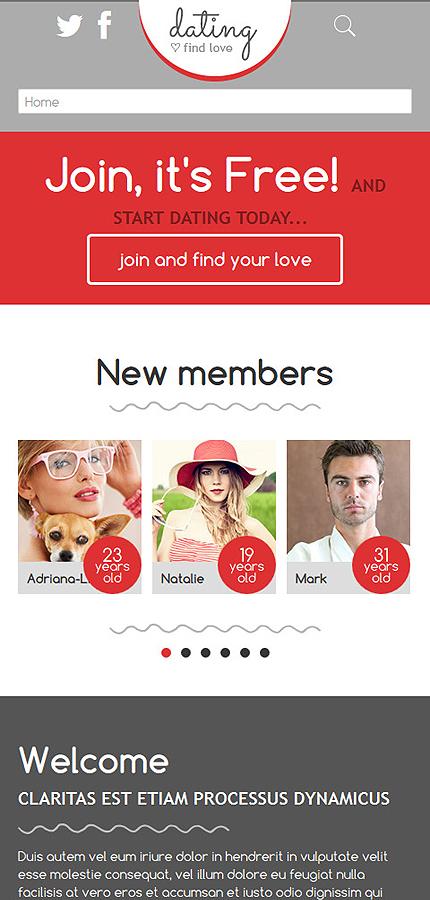 Joomla dating site templates