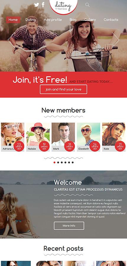 dating site template joomla responsive lares