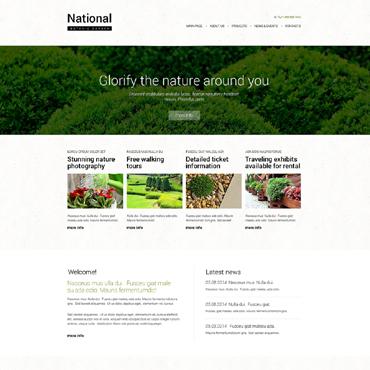 Exterior Design Templates Website Templates