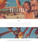 Sport WordPress Template 49672