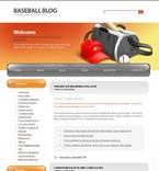 Sport PSD  Template 49682