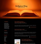 Religious PSD  Template 49683