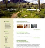 Travel PSD  Template 49685