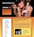 Music PSD  Template 49687
