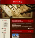 Travel PSD  Template 49689