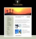 Religious PSD  Template 49692