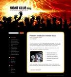 Night Club PSD  Template 49693