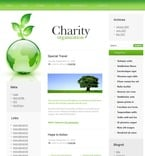 Charity PSD  Template 49695