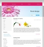 Flowers PSD  Template 49697