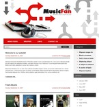 Music PSD  Template 49699