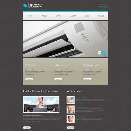 Breeze - WordPress Template based on Bootstrap