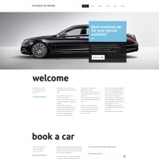 Car Al Bootstrap Website Template