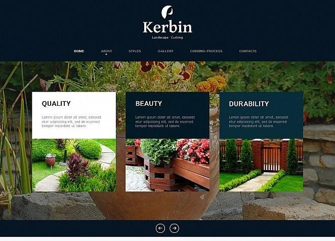 Landscape Design Moto CMS HTML Template #49618 on garden park logos, garden club logos, garden logos design, garden nursery logos,